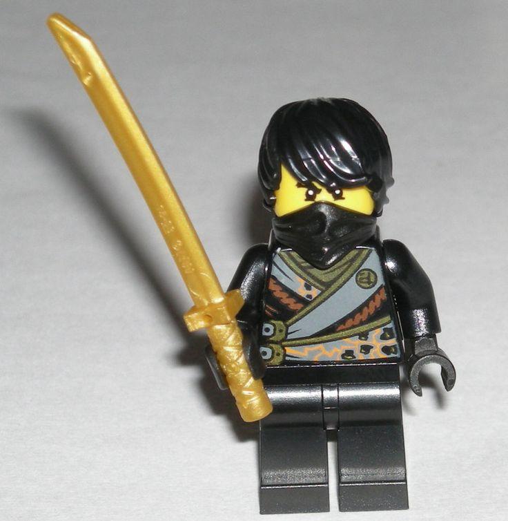 LEGO NINJAGO COLE REBOOTED MINIFIGURE AUTHENTIC W Gold