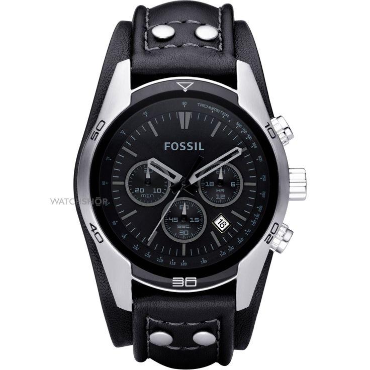 [TimeMob] Relógio Masculino Fossi, pulseira em courol R$303,19