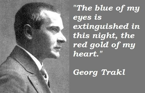 Georg Trakl's quotes, famous and not much - QuotationOf . COM