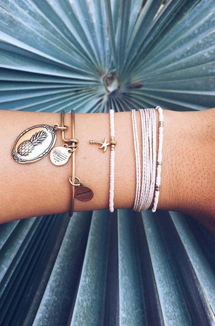 Palm Trees & Pineapples | Pura Vida Bracelets