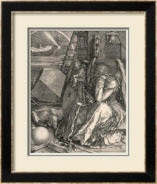 Melencolia I-Melancholia I reproduction procédé giclée par Albrecht Dürer sur AllPosters.fr