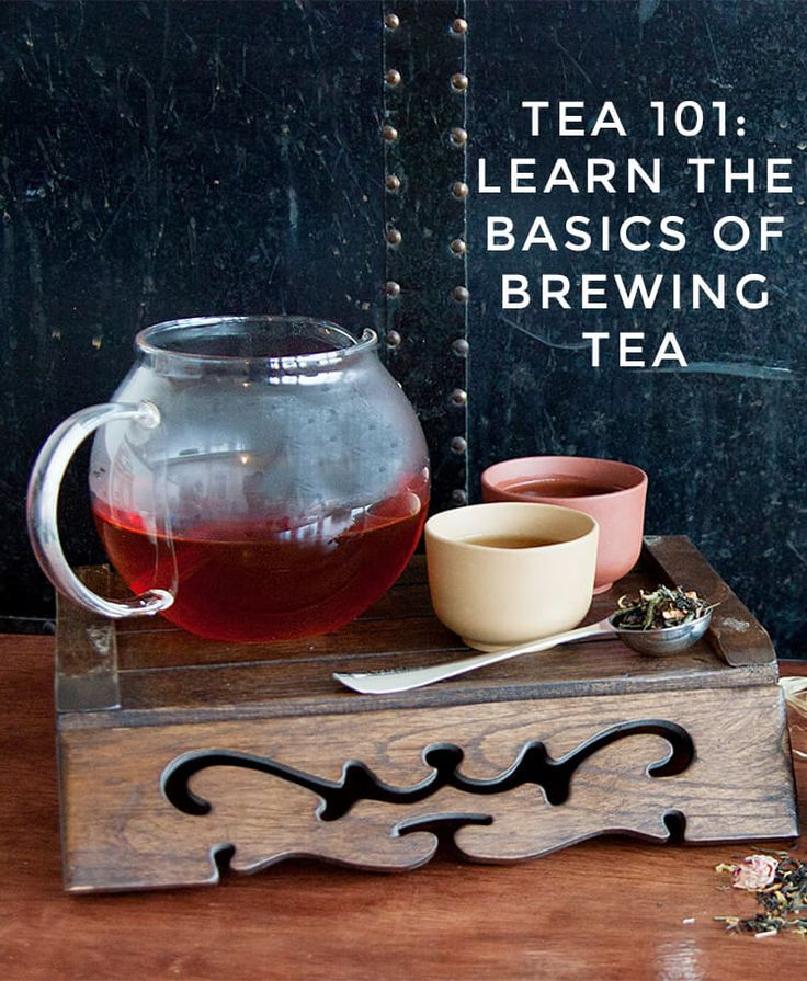 If you're new to loose leaf tea, you'll want to check out this article. You'll learn all about the different kinds of tea available, and the best ways to steep them! Learn more at InSearchOfYummyness.com. #tea