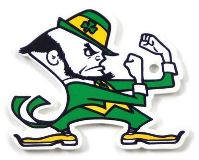 Notre Dame Fighting Irish Leprechaun Steel Magnet