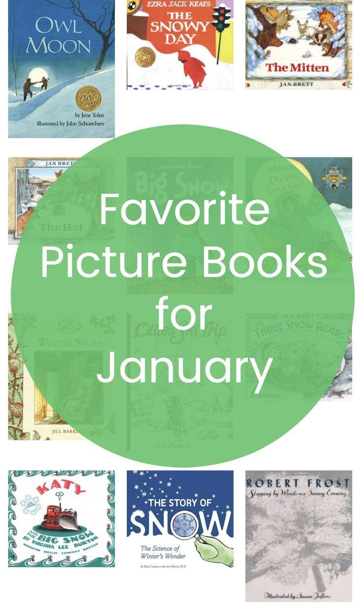 Need some good picture books for January? Here are 27 fantastic winter picture books to share with your kids.