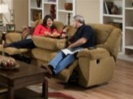The Transformer Collection by Catnapper is upholstered in Extra Soft and Textural Chenille Fabric available in three colors; beige, chocolate, and seal. Comfortable Chaise Pad Seating and Luxurious Pub Back Styling give you long lasting comfort.