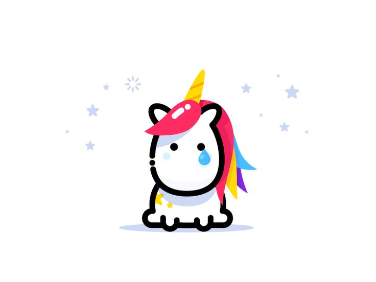 Unicorn by MBE #Design Popular #Dribbble #shots