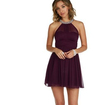 Kylie-plum Homecoming Dress from Windsor | Dresses