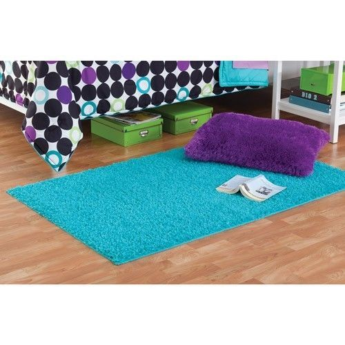 Your Zone NEW SHAG ACCENT RUGS Assorted Colors Sizes Bedroom Teen