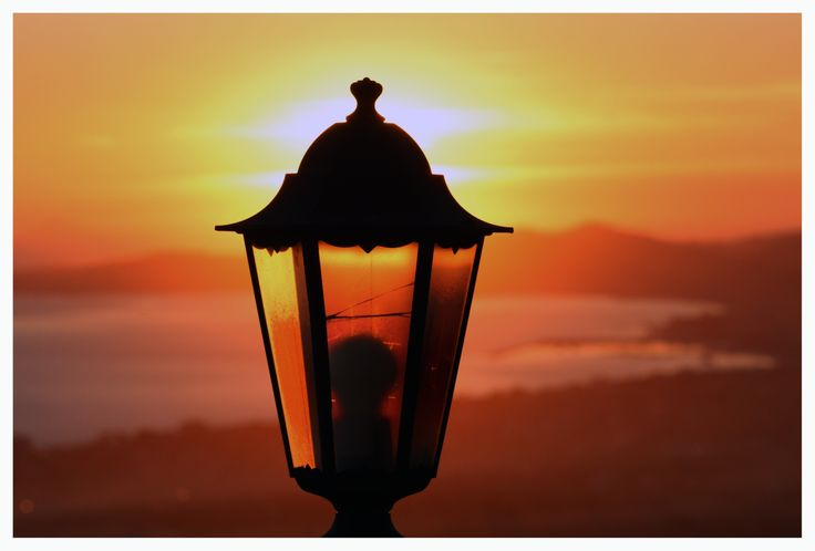 La lanterna accesa