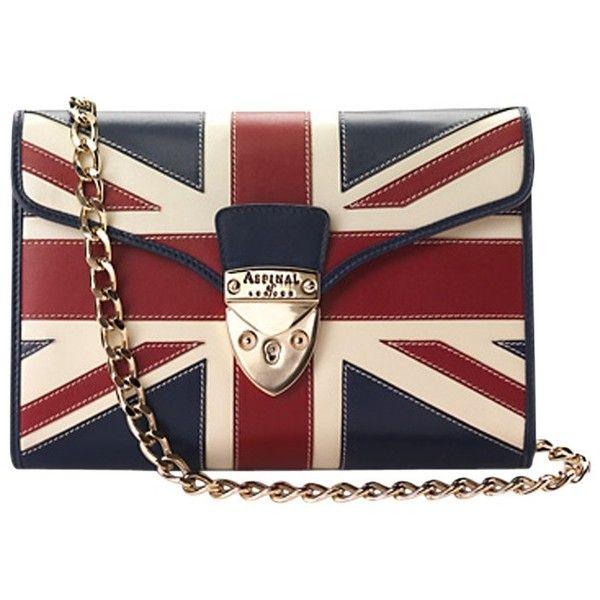 Aspinal of London Manhattan Clutch Handbag, Brit found on Polyvore