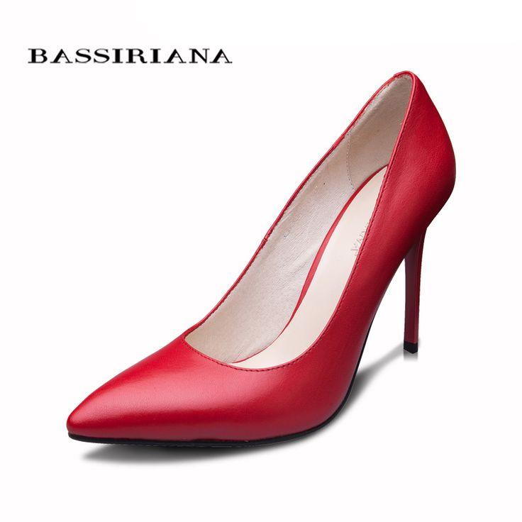 Купить товарBASSIRIANA 2016 новая модель туфли для женщин Натуральная кожа  35 40 обувь на каблуках женская Классический туфли лодочка бесплатная доставка в категории Туфли-лодочкина AliExpress. BASSIRIANA 2016 новая модель туфли для женщин Натуральная кожа  35-40 обувь на каблуках женская Классический туфли лодочка бесплатная доставка