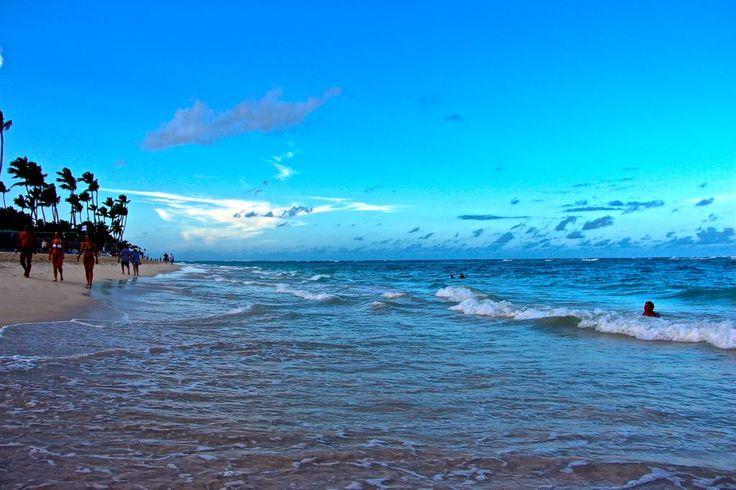 Amo Punta Cana. Ese mar hipnotiza a cualquiera...