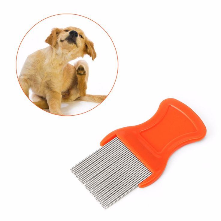 >> Click to Buy << 1 PC Dog Cat Hair Lice Nit Pets Flea Eggs Dirt Dust Remover Steel Tooth Comb Health Brushes #Affiliate