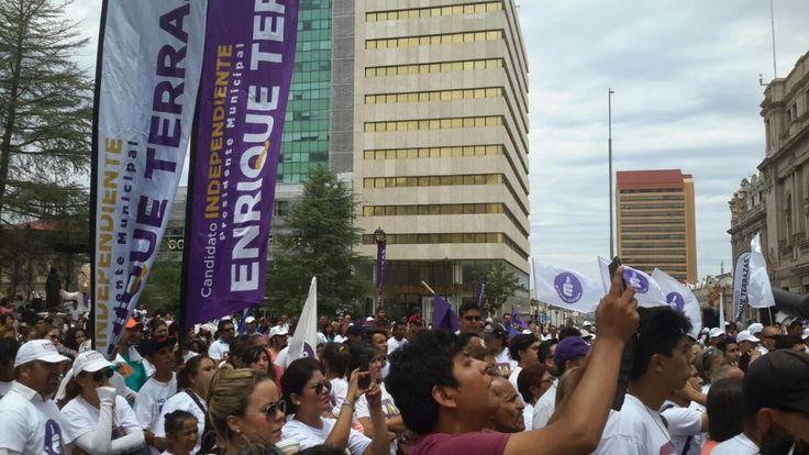 Invita Terrazas a ciudadanos en no dejar votos nulos en elecciones | El Puntero
