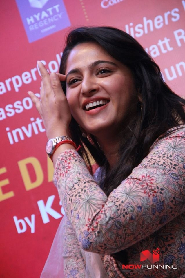 Anushka Shetty at The Dance of Durga Book Launch