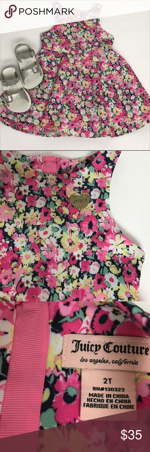 JUICY Couture Dress LIKE NEW! Juicy Couture toddler dress. Beautiful gold zipper on back. My daughter got so many complements on this dress. Juicy Couture Dresses