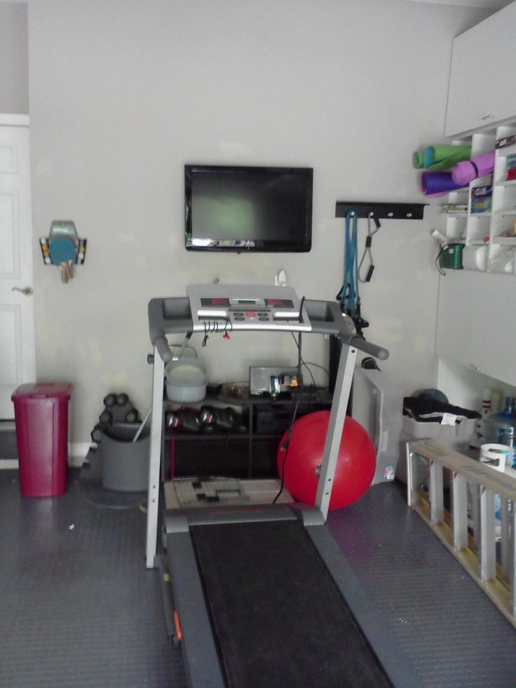Best home garage gym images on pinterest