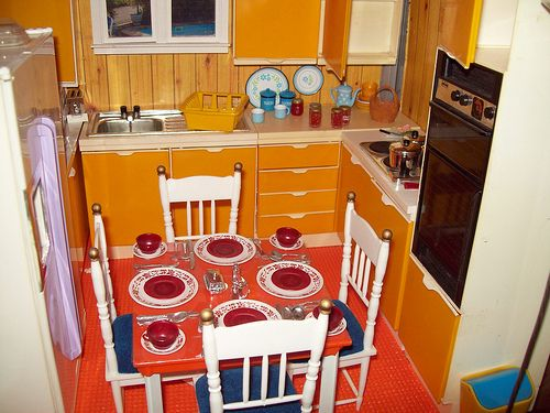 This Sindy Kitchen was in my Barbie doll house