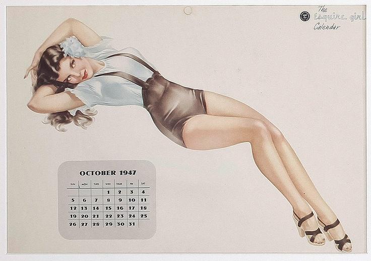 Esquire Calendar 1947