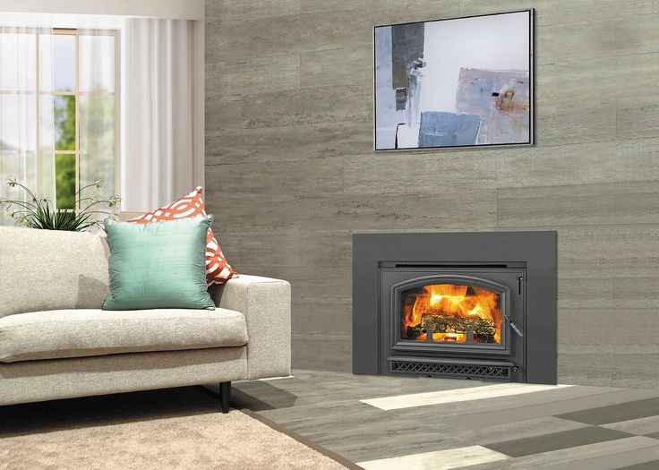 The Quadra-Fire Voyageur Grand wood burning insert harnesses proven technology to achieve long, clean burns and powerful heat production. With a 8-10 hour burn time from a single load of wood, the Voyageur Grand is a rugged heating option.