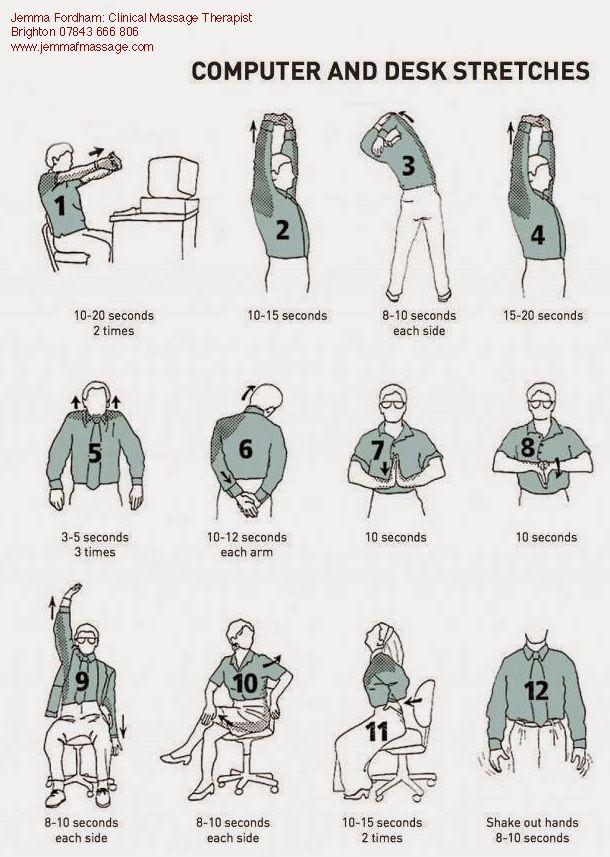 17 beste afbeeldingen over Pijn reducerende oefeningen op ...