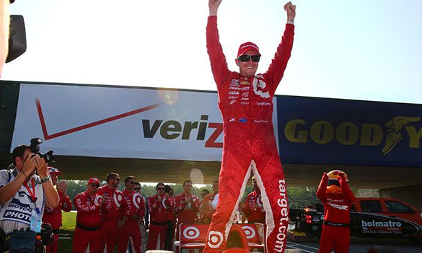 From last to first: Dixon wins again at Mid-Ohio