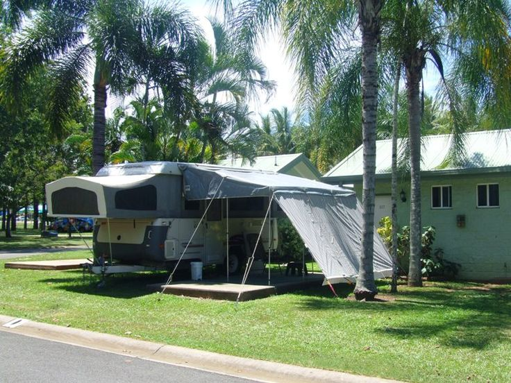 Cairns Camping Ensuite Powered Site