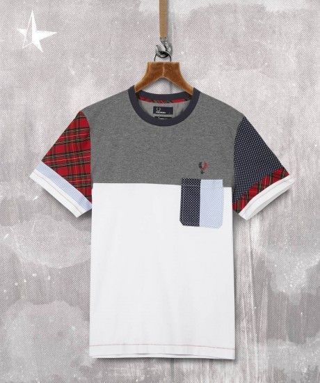 Fred Perry, izzue Colour Block T-Shirt #menswear