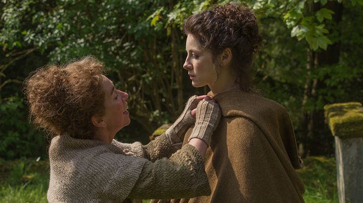 Official Episode 107....getting Claire ready for The Wedding