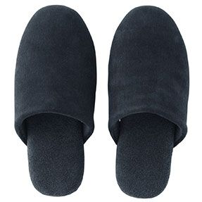 Cotton Corduroy Slippers Navy Size M From Muji 2014 In 2018