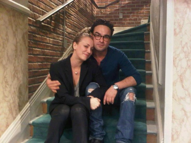 Penny and leonard dating in real life