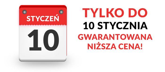 Uwaga, tylko do 10.01 gwarancja niższej ceny❗❗ 10 stycznia – zwyżka cen na #ilovemkt.pl