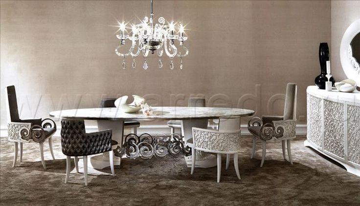 Композиция столовые комнаты SARAYA 6, производитель ELLEDUE, коллекция SARAYA – элитная мебель из Италии в салоне «ARREDO»