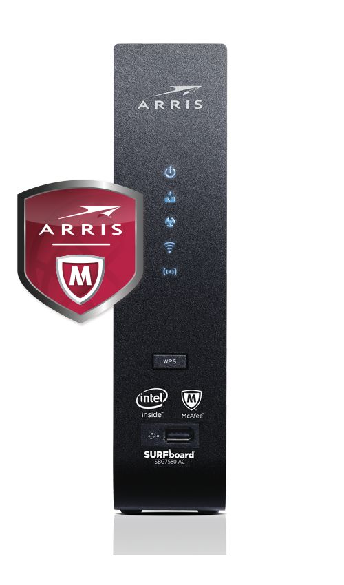 SBG7580-AC Cable Modem & Wi-Fi® Router with McAfee - SURFboard Store
