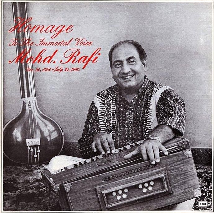 "Rafi's association with Naushad helped the former establish himself as one of the most prominent playback singers in Hindi cinema.[7] Songs from Baiju Bawra (1952) like ""O duniya ke rakhwale"" and ""Man tarpat hari darshan ko aaj"" furthered Rafi's credentials.[6] Rafi ended up singing a total of 149 songs (81 of them solo) for Naushad.[11]  In the 1960 film Mughal-E-Azam, Mohammed Rafi sang ""Ae Mohabbat Zindabad"", composed by Naushad, with a chorus of 100 singers"