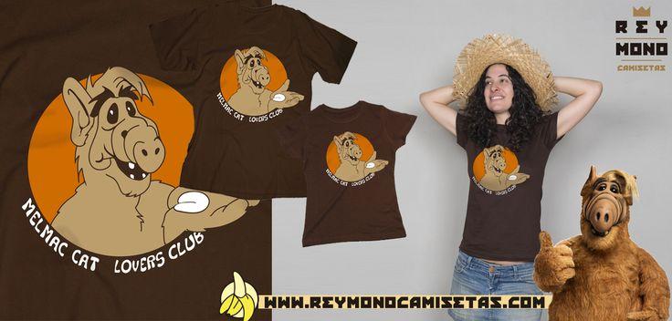 Sólo Pienso En Camisetas: Camiseta de la serie de los 80s ALF en Rey Mono