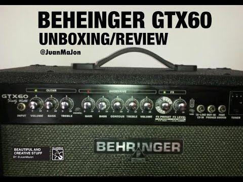 Buscas amplificador para guitarra? Dale clic aquí 💥 Amplificador Behringer GTX60 (Unboxing And Review)  Español https://youtube.com/watch?v=y8BOoAtC7H8