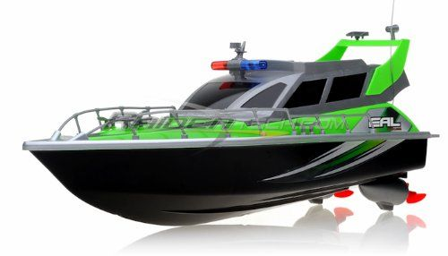 RC Boat Review-Electric Full Function QUALITY Big Size Remote Control 4 CHANNEL Patrol Craft Police Airship RTR RC Boat Amazon Special  *** click the picture to learn more...