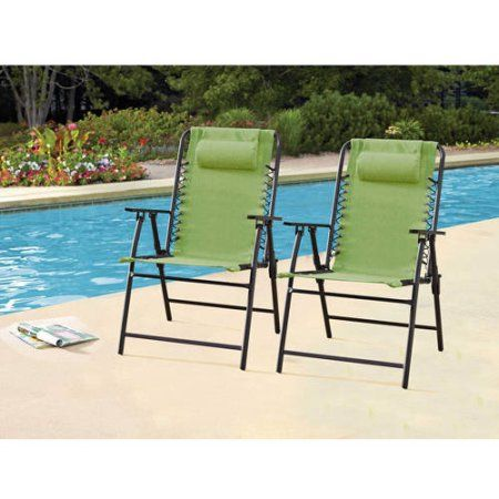 Mainstays Bungee Chairs, Set of 2, Multiple Colors - Walmart.com