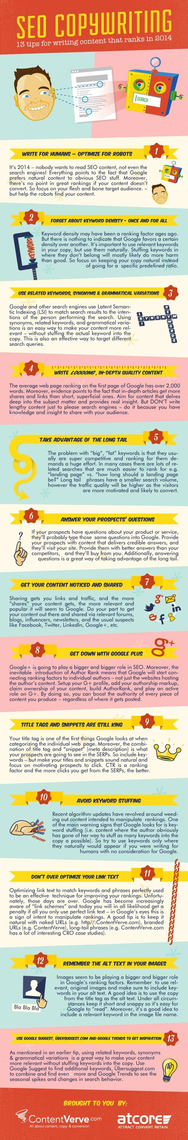 SEO-How-to-write-content-that-ranks-2014_[infographic]: Writing Content, Marketing, Social Media, Seo Copywriter, Engine Optimism, Tips, 2014 Infographic, Search Engine, Blog