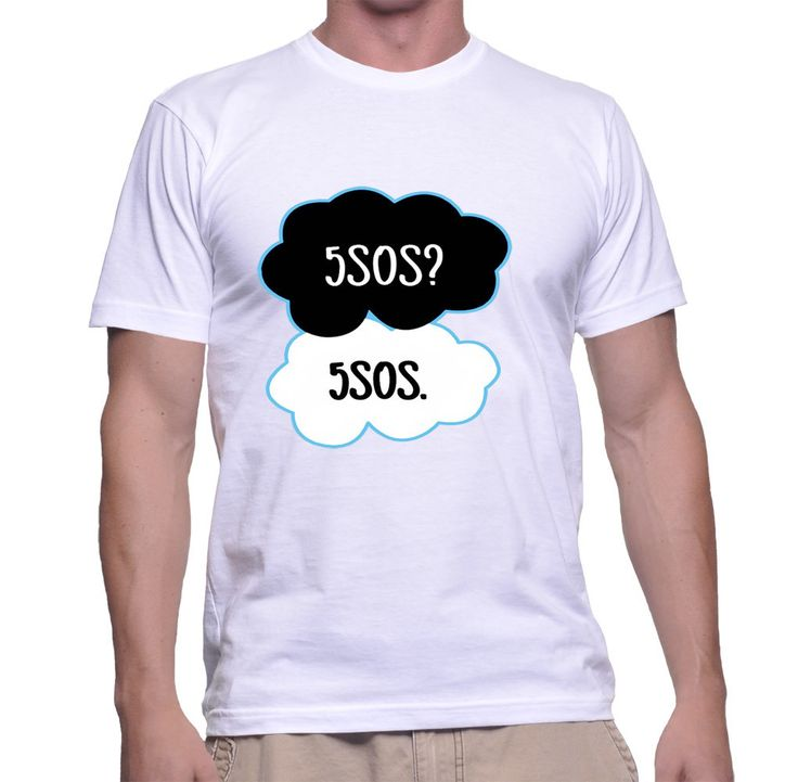 5sos tfios For Men T-shirt