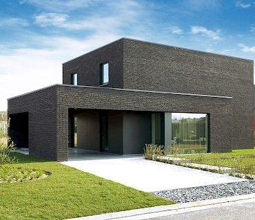 Meer dan 1000 idee n over stenen gevel op pinterest facades kengo kuma en architecten - Landscaping modern huis ...
