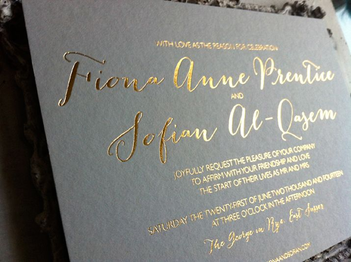 Emily & Jo: Chic and Contemporary Wedding Stationery | Love My Dress® UK Wedding Blog