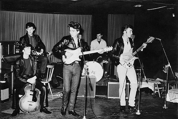THE SOURCE - The Savage Young Beatles - Spring 1961 - The Top Ten Club
