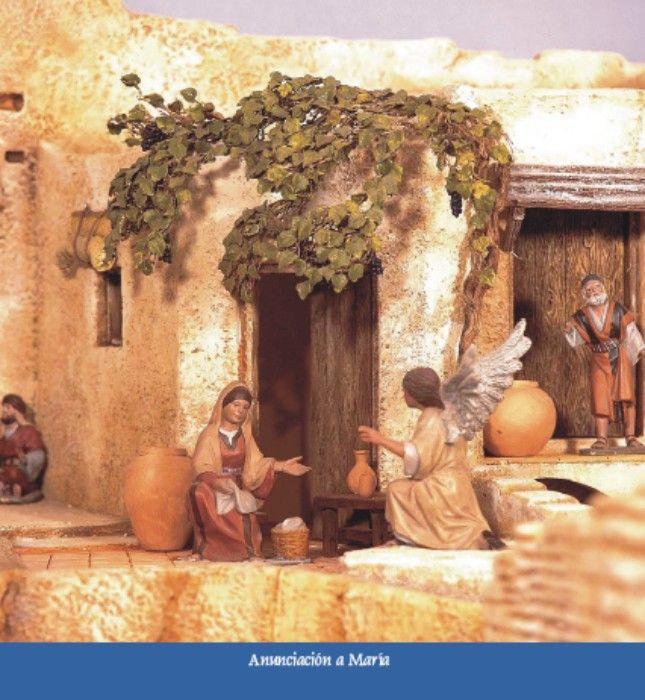 La anunciacion del Angel a Maria