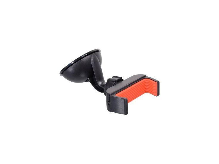Držák telefonu s extra silnou přísavkou a klipsem pro uchycení telefonu šířky 5,5 – 8,5 cm.