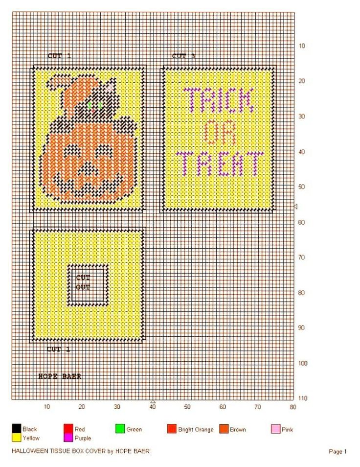 75 mejores imágenes sobre halloween tissue box en Pinterest | Lona ...
