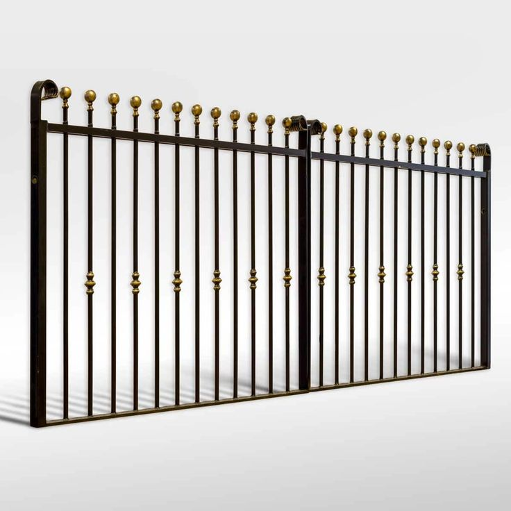Best 25 Wrought Iron Driveway Gates Ideas On Pinterest