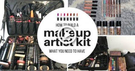 Wie man ein freiberufliches Makeup Artist Kit baut – Makeup.Nails.Cutee.