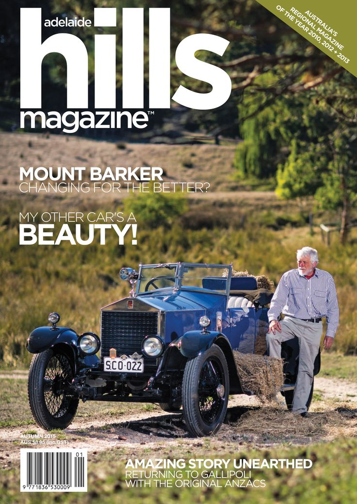 Adelaide Hills Magazine | Autumn 2015 issue cover.